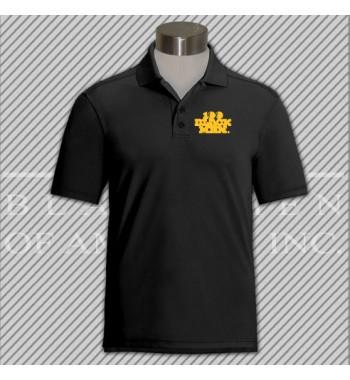 CBBD.Black Dry Fit Golf Shirt