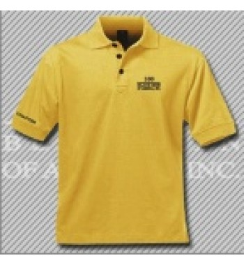 CGD.Gold Dry Fit Golf Shirt