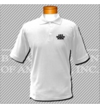 CWD.White Dry Fit Golf Shirt