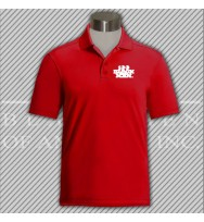 CRED.Red Dry Fit Golf Shirt
