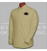 LKBT. 100 Khaki L/S Twill Shirt