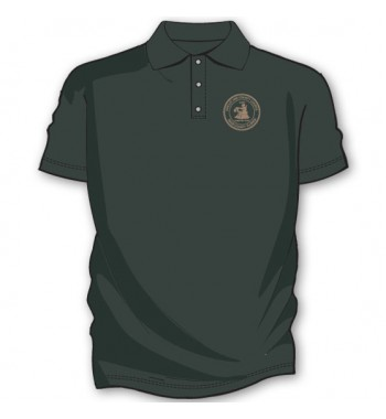 Charcoal Basic Golf Shirts