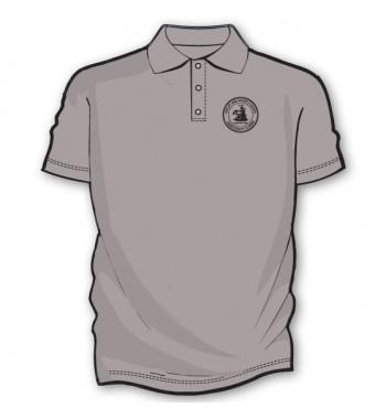 Gray Basic Golf Shirts