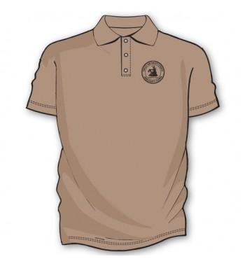 Sand Basic Golf Shirts