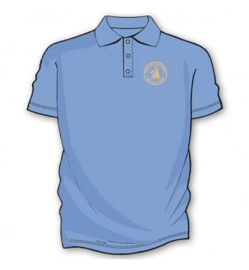 Light Blue Basic Golf Shirts