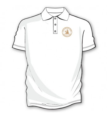 White Basic Golf Shirts