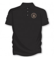 Black Basic Golf Shirts