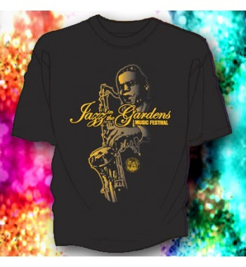 JITG Big Sax Black Tee