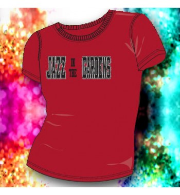 Jazz In The Gardens 3D Red Babydoll T-shirt