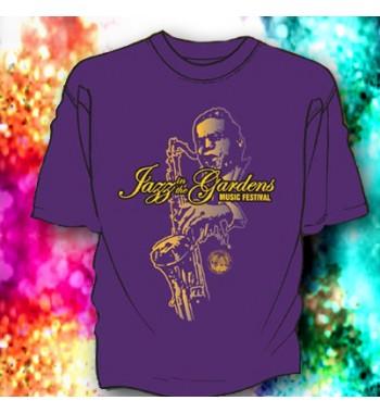 JITG Big Sax Purple Tee