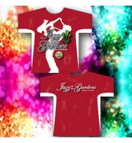 Red Sublimated Sax Tee