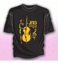 BLACK JAZZ BASS PLAYER TEE