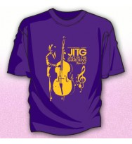 PURPLE JAZZ BASS PLAYER TEE