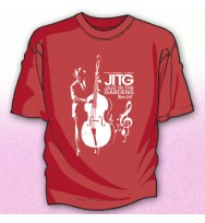 RED JAZZ BASS PLAYER TEE