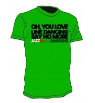 1 GREEN LINE DANCING TEE